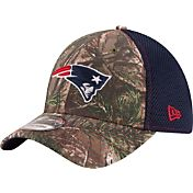 New Era Men's New England Patriots Real Tree Neo 39Thirty Camouflage Flex Hat