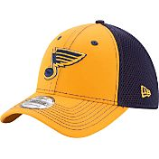 New Era Men's St. Louis Blues 39Thirty Neo Gold Front Flex Hat