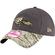 New Era Women's Baltimore Ravens Salute to Service 2016 9Twenty Adjustable Hat