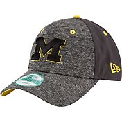 New Era Youth Michigan Wolverines Grey The League Shadow 9Forty Adjustable Hat