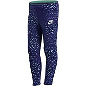 Nike Little Girls' Club AOP Leggings