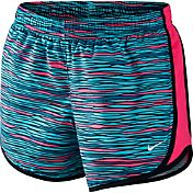 Nike Girls' Printed 1 Tempo Running Shorts
