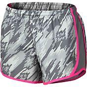 Nike Girls' Dry Overdrive Printed Tempo Running Shorts