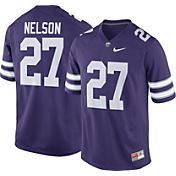 Nike Men's Jordy Nelson Kansas State Wildcats #27 Purple Replica College Alumni Jersey