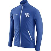 Nike Men's Kentucky Wildcats Blue Elite Players Dri-FIT Touch Full-Zip Jacket