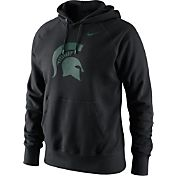 Nike Men's Michigan State Spartans Black Classic Logo Hoodie