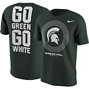 Nike Men's Michigan State Spartans Green 2016 Football Fan T-Shirt