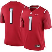 Nike Men's Rutgers Scarlet Knights #1 Scarlet Game Football Jersey