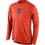 Nike Men's Syracuse Orange ELITE Orange Shooter Long Sleeve Shirt