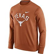 Nike Men's Texas Longhorns Burnt Orange Circuit Crew Sweatshirt