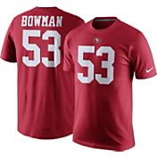 Nike Men's San Francisco 49ers NaVorro Bowman #53 Pride Red T-Shirt