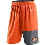Nike Men's Cincinnati Bengals Fly Orange Shorts