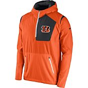 Nike Men's Cincinnati Bengals Sideline 2016 Vapor Speed Fly Rush Orange Jacket