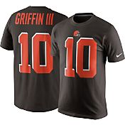 Nike Men's Cleveland Browns Robert Griffin III #10 Pride Brown T-Shirt