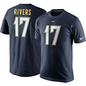 Nike Men's Los Angeles Chargers Philip Rivers #17 Pride Navy T-Shirt