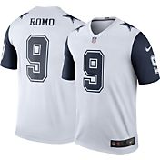 Nike Men's Color Rush 2016 Dallas Cowboys Tony Romo #9 Legend Game Jersey
