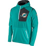 Nike Men's Miami Dolphins Sideline 2016 Vapor Speed Fly Rush Aqua Jacket