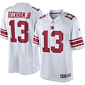 Nike Men's Limited White Jersey New York Giants Odell Beckham Jr. #13