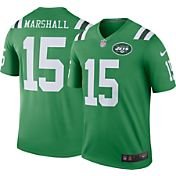 Nike Men's Color Rush 2016 New York Jets Brandon Marshall #15 Legend Game Jersey