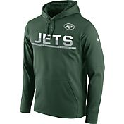 Nike Men's New York Jets Circuit Pullover Green Hoodie