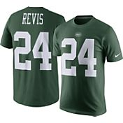 Nike Men's New York Jets Darrelle Revis #24 Pride Green T-Shirt