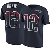 Nike Men's New England Patriots Tom Brady #12 Modern Navy T-Shirt