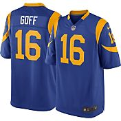 Nike Men's Alternate Game Jersey Los Angeles Rams Jared Goff #16