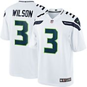 Nike Men's Away Limited Jersey Seattle Seahawks Russell Wilson #3
