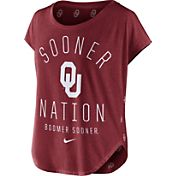 Nike Women's Oklahoma Sooners Crimson Gameday Signal Tri-Blend T-Shirt