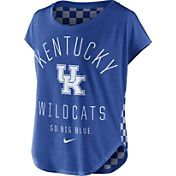 Nike Women's Kentucky Wildcats Blue Gameday Signal Tri-Blend T-Shirt