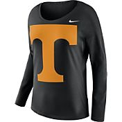 Nike Women's Tennessee Volunteers Tailgate Black Long Sleeve Shirt