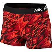 Nike Women's 3'' Pro Cool Overdrive Printed Compression Shorts