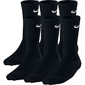Nike Kids' Cotton Crew Socks 6 Pack