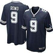 Nike Youth Away Game Jersey Dallas Cowboys Tony Romo #9