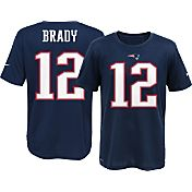 Nike Youth New England Patriots Tom Brady #12 Navy T-Shirt