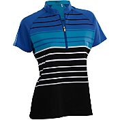Nancy Lopez Women's Point Golf Polo – Plus-Size