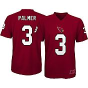 NFL Team Apparel Youth Arizona Cardinals Carson Palmer #3 Red Performance T-Shirt