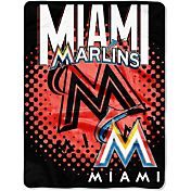 "Northwest Miami Marlins 60"" x 80"" On Deck Micro Raschel Throw"