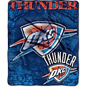 Northwest Oklahoma City Thunder Dropdown Raschel Throw Blanket