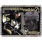 Northwest Pittsburgh Penguins Evgeni Malkin #71 Tapestry Throw Blanket