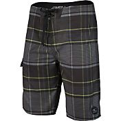 O'Neill Men's Santa Cruz Plaid Board Shorts