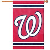 Party Animal Washington Nationals Applique Banner Flag