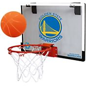 Rawlings Golden State Warriors Game On Polycarbonate Hoop Set