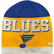 CCM Men's St. Louis Blues Wordmark Knit Beanie