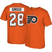 Reebok Men's Philadelphia Flyers Claude Giroux #28 Away Player T-Shirt