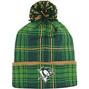 Reebok Men's Pittsburgh Penguins St. Patrick's Day Cuffed Knit Hat