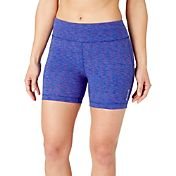 Reebok Women's Stretch Cotton 5'' Printed Shorts