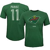 CCM Youth Minnesota Wild Zach Parise #11 Vintage Replica Home Player T-Shirt