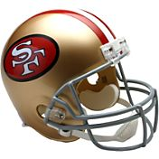 Riddell San Francisco 49ers VSR4 Deluxe Throwback '64 – '95 Full-Size Football Helmet