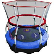 Skywalker Trampolines 60' Seaside Adventure Bouncer Trampoline with Enclosure